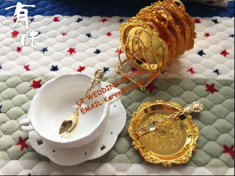 Алтын күміс жалатылған «Ыдыс-аяқ» - Мерекелік және кешкі заттар - фото 1