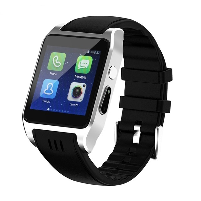 silver Smartwatch android 5c649caf6e989
