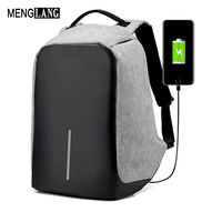 Men Anti Theft Backpacks With USB Charge Laptop Women Backpack For Men Big Capacity Waterproof Male