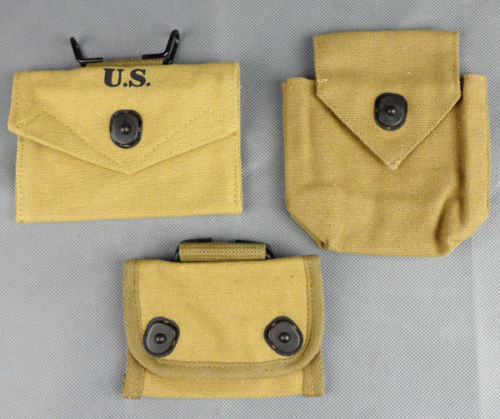 3pcs Wwii Us Army Compass First-aid Kit Airborn Canvas Pouch Bag High Quality And Low Overhead Sports Souvenirs