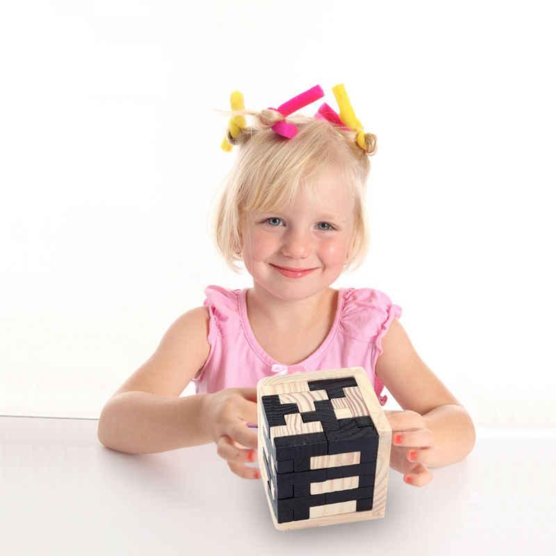 子供のおもちゃ高品質クール教育木製パズルため体操 3D ロシア明赤ちゃんのおもちゃ子供のギフトおもちゃ 1 個