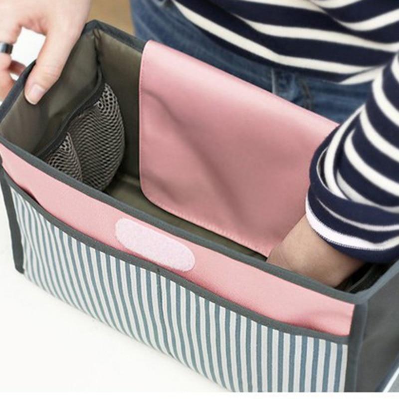 HTB1VGmeKeGSBuNjSspbq6AiipXa2 Baby Stroller Bag Nappy Diaper Mummy Bag Hanging Basket Storage Organizer Baby Travel Feeding Bottle Bag Stroller Accessories