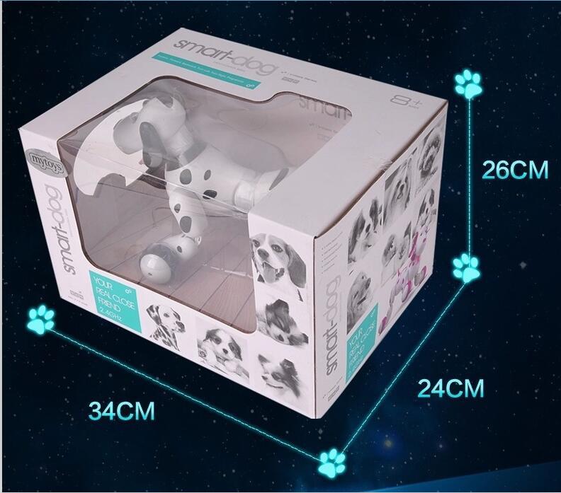 Fernbedienung tier spielzeug RC Roboter Smart Hund 777 338S RC Simulation Hund Multi Funktion Spielzeug hund sound bewegen geschenk VS TT320 dinosaurier - 6