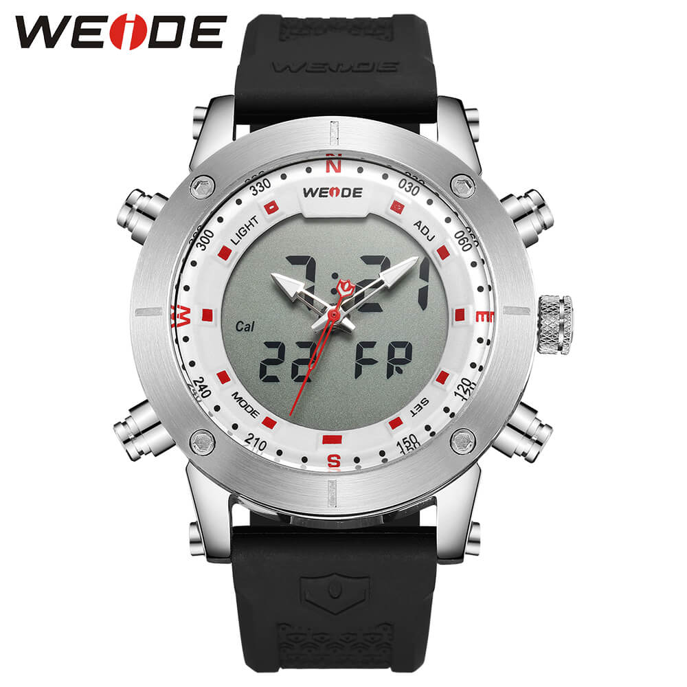 WEIDE luxury Genuine LCD digital Sport fitness watch alarm clock Water Resistant best selling 2018 products military watches splendid brand new boys girls students time clock electronic digital lcd wrist sport watch