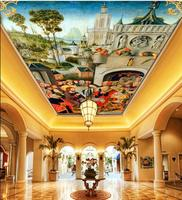 Free Shopping 2015 New New Woven The World Famous Paintings Wallpaper