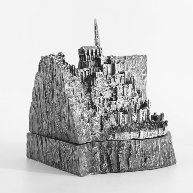 Costume Props Costumes & Accessories Nice The Hobbit Cosplay Minas Tirith City Mini Figure Cosplay Ashtray Girl Friend Gift Collection Gift Drop Ship Big Clearance Sale