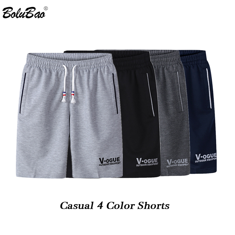 BOLUBAO Fashion Brand Men Shorts 2019 Summer Male Printing Casual Drawstring Shorts Men's Breathable Comfortable Shorts