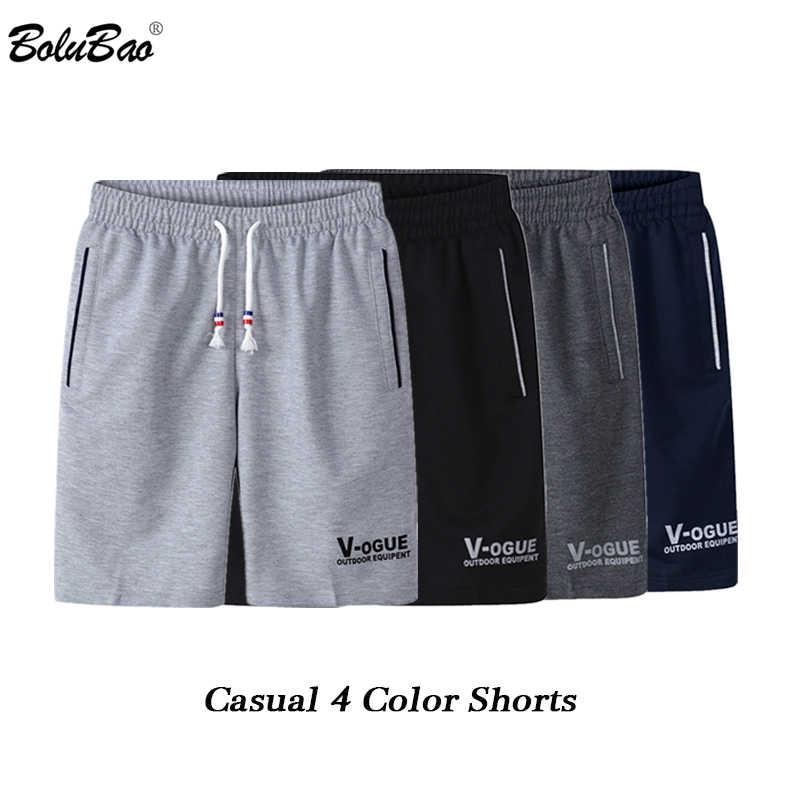 BOLUBAO Marca di Modo Degli Uomini Casual Shorts Estate Nuovo Maschio di Stampa Coulisse Shorts degli uomini Traspirante Confortevole Shorts