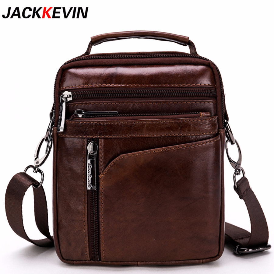 Cow Genuine Leather Messenger Bags Men Travel Business Crossbody Shoulder Bag for Man Handbags Messenger Small Men Cow Leather