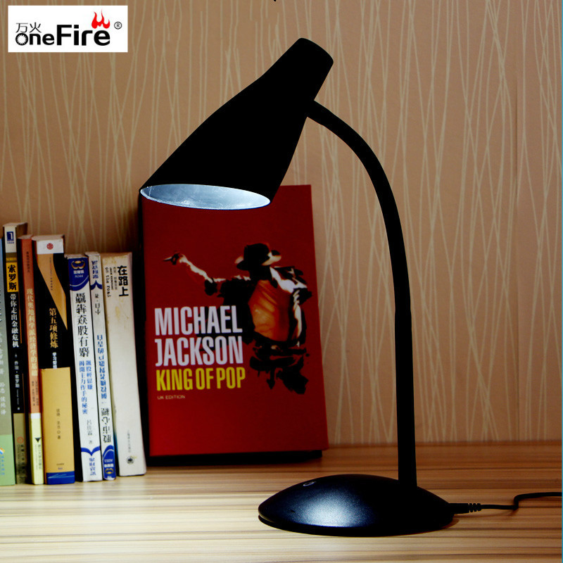 Table Lamp Light with Clip two level brightness Switch Dimmable Student Lamp Flexible Adjustable USB LED Clipper Desk Lamp usb high brightness flexible white light led clip lamp silver white