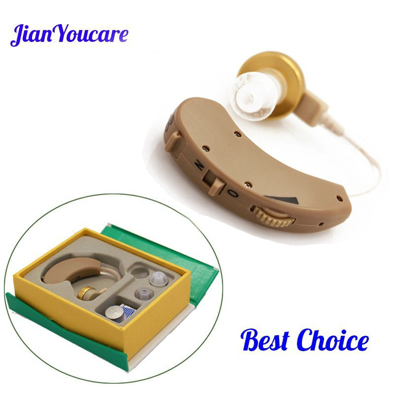 Adjustable Hearing Aid Invisible Sound Voice Amplifier Volume Ear Listening Assistance for elder Deaf  aids  Aparelho Auditivo