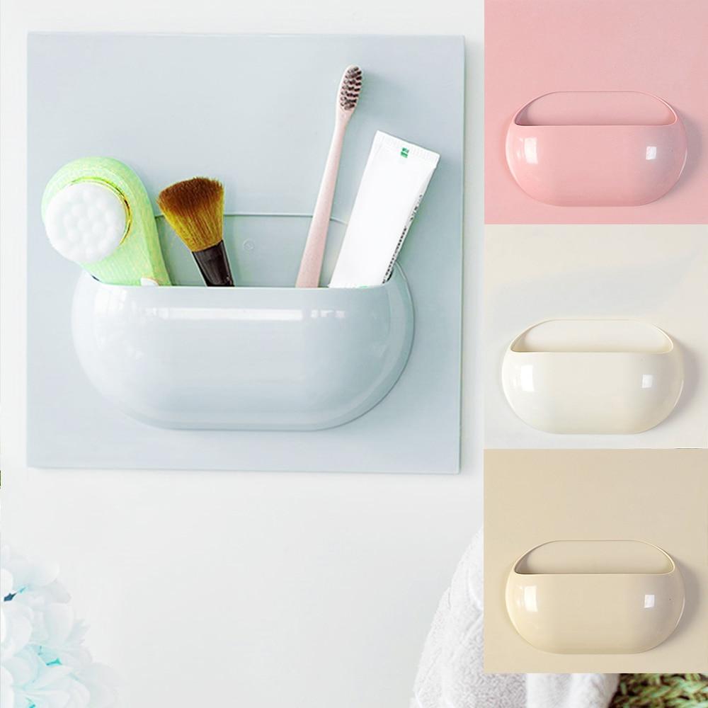 Practical Cute Design Toothbrush Storage Holder Organizer Sponge ...