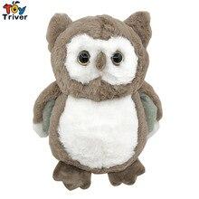 Plush Real Life Owl Toy Stuffed Night Bird Doll Creative Children Kids Baby Birthday Kawaii Dolls Christmas Gift Home Shop Decor