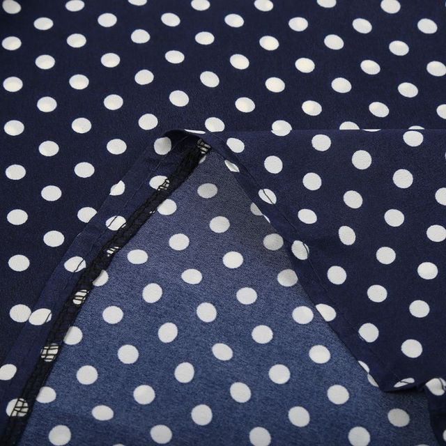 Chiffon Polka Dots Blouse Casual Shirt