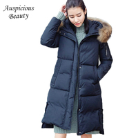 2017 New Winter Collection Winter Women White Duck Down Coat Jacket Warm High Quality Woman Down