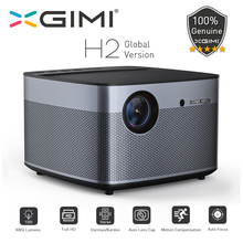 лучшая цена XGIMI H2 Global version DLP Projector 1080P Full HD 1350 Ansi Lumens 3D Projecteur 4K Android Wifi Home Theater Beamer