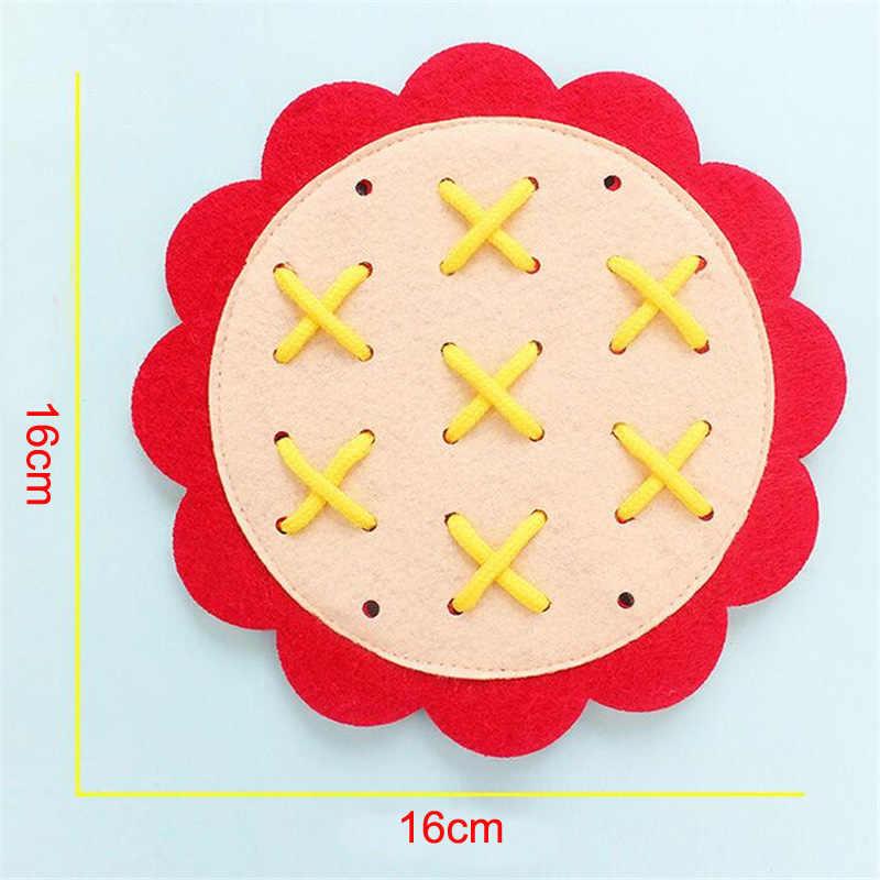 新教育幼稚園マニュアル DIY 織り布モンテッソーリ材料ベビー早期学習教育おもちゃ数学のおもちゃ