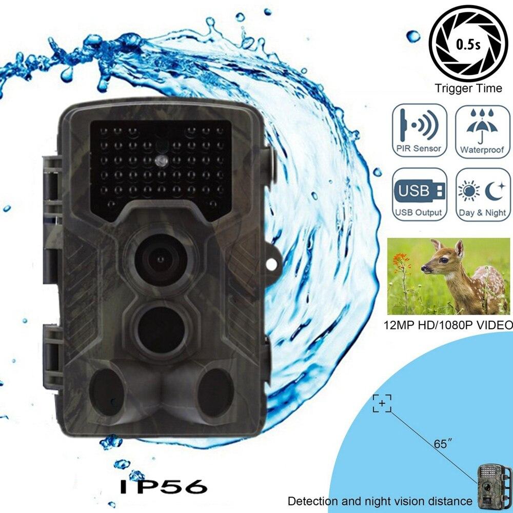 Caméra de piste de chasse HC-800M Outlife sans fil étanche chasse sauvage caméra de Vision nocturne infrarouge GSM GPRS caméra de pièges numériques
