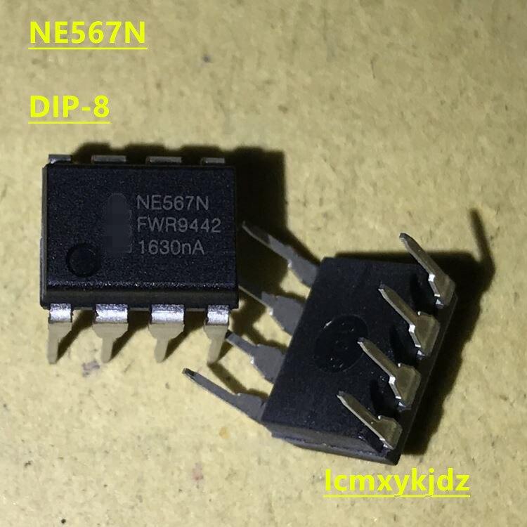 10 pçs/lote, NE567N NE567 DIP-8, Nova Oiginal Novo Produto original frete grátis entrega rápida