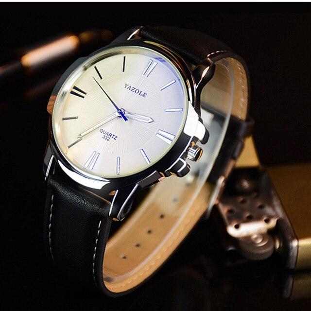 YAZOLE Watch Men Watch Top Brand Luxury Men's Watch Luminous Fashion Men Watches Clock saat erkek kol saati relogio masculino