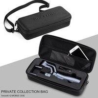 New Zhiyun Smooth Q Portable EVA Carrying Case 3 Axis Handheld Smartphon Gimbal Bag Battery Handbag