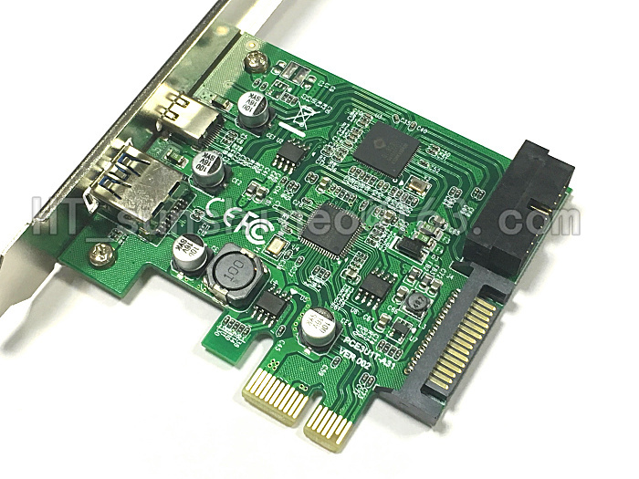 1pcs--high Quality Pci-e X1 Usb3.0 To Usb Computer Cables & Connectors type-c Pci-e X1 Expression Card