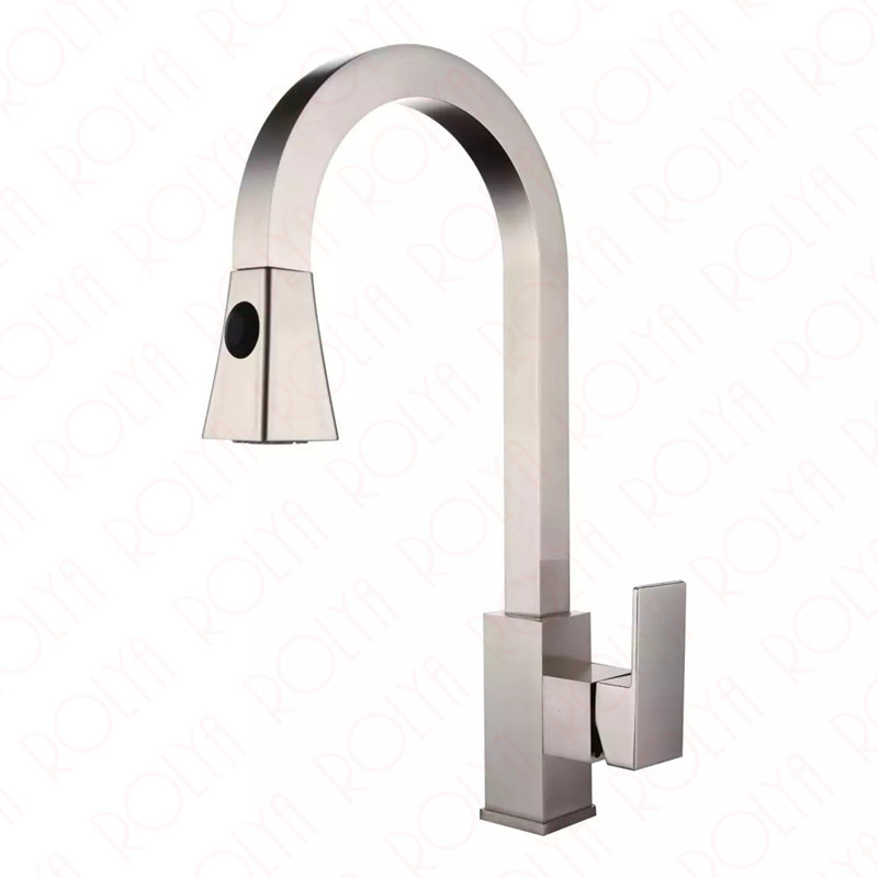 4kg Weight Large Super Quality Square Style Pullout Sink Mixer Tap ...
