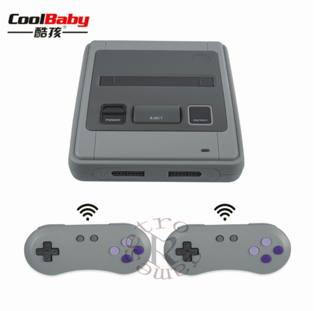 Wireless controller HDMI/AV MINI Retro Classic handheld game player Family TV game console Childhood Built-in 518 Games coolbaby rs 93 retro game console wireless controller version of the game console built in600 classic games entertainment system