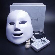 7 Colors Light Photon Electric LED Facial Mask Skin PDT Rejuvenation Anti