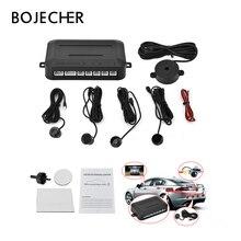 4 sensori Buzzer 22mm Kit Sensore di Parcheggio Backup Radar Alert Audio Indicatore Sonda Sistema 12 v dell'automobile di parcheggio assistant kit