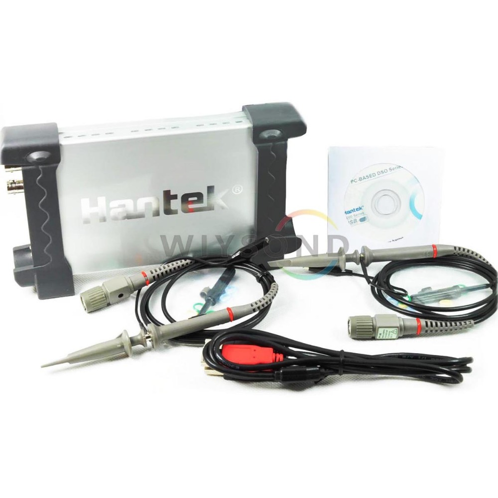 O001 6022BE 20Mhz Bandwidth Hantek PC Based USB Digital Storage Oscilloscope FREE SHIPPING осциллограф hantek 6022be usb storag 2channels 20 48msa s