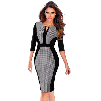 Vintage Style Pencil Dress