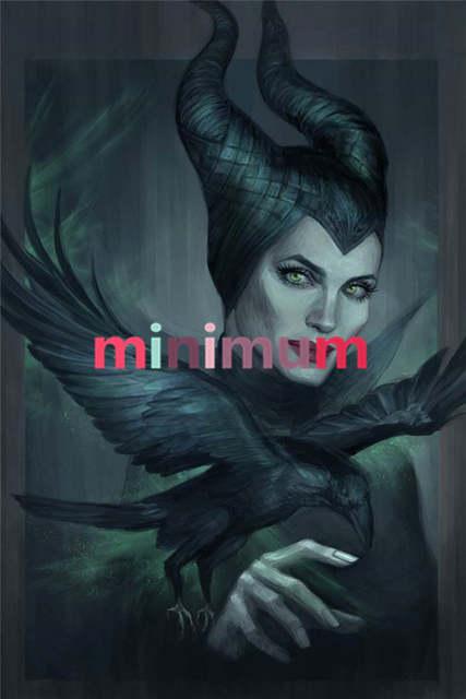 Diy 5d Diamond Painting Maleficent Fan Art Cross Stitch Full Diamond Mosaic