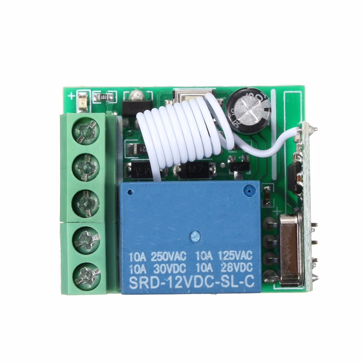 Hot 315mhz 12v 1 Channel Power Supply Wireless Remote Control Relay Switch Self Lock Rc In Relays From Home Improvement On Alibaba