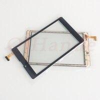 1 pçs/lote Novo V0 XHS0700503B 7''inch tablet Tela de Toque Capacitivo Digitador de vidro painel lens XHS0700503B sensor de toque 184*106MM