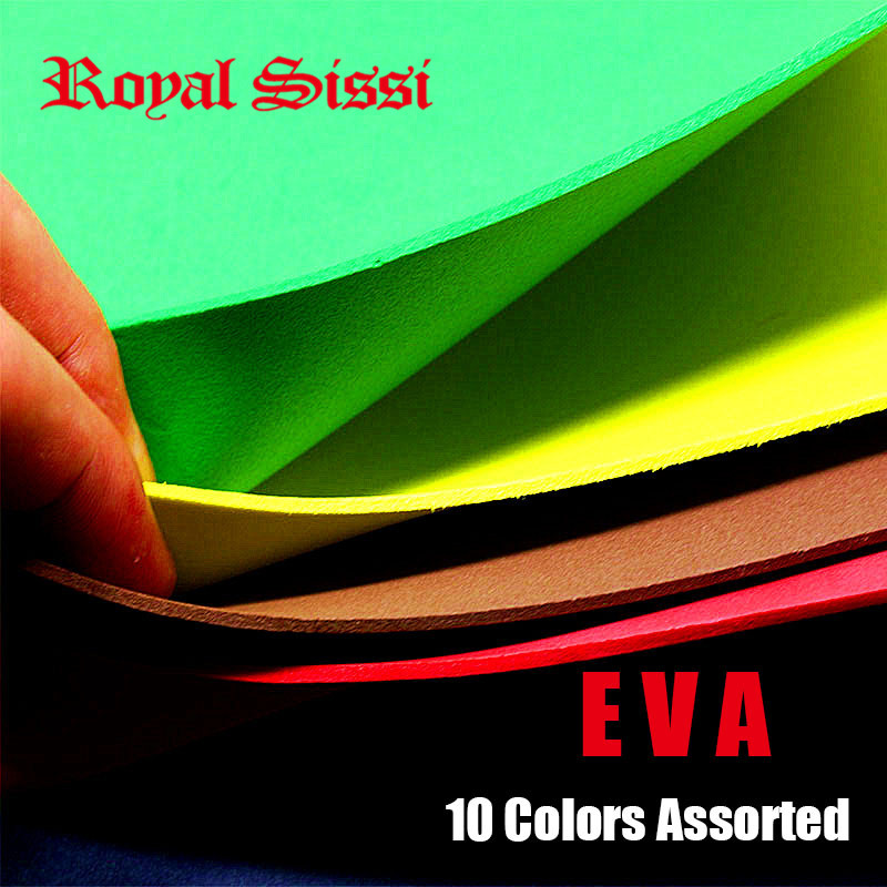 10colors assortment Fly Tying Foam Square foam Paper For Flying Fishing &Fly Tying Material Bugs Cricket body 2mm EVA Foam Sheet 5sheets pack 10cm x 5cm holographic adhesive film fly tying laser rainbow materials sticker film flash tape for fly lure fishing