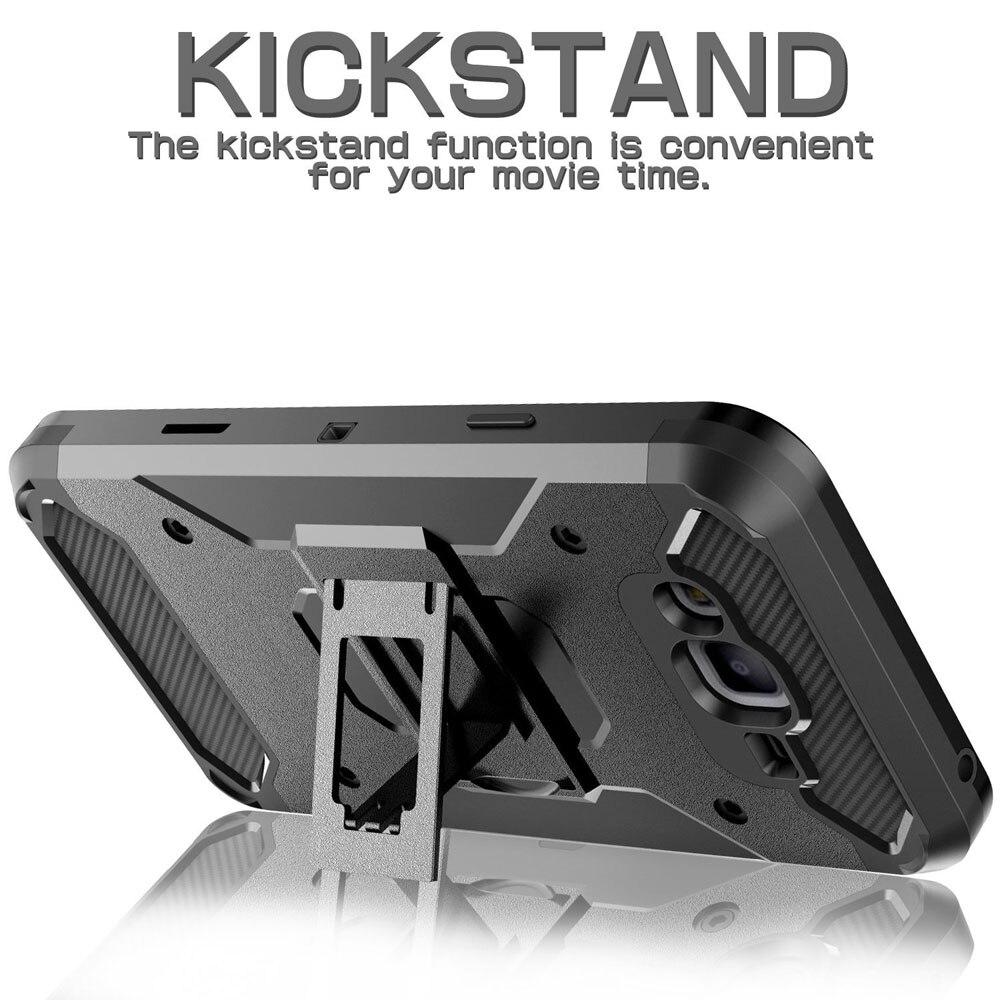 Armor Case Kickstand Belt Clip Holster Cover För Samsung Galaxy J1 - Reservdelar och tillbehör för mobiltelefoner - Foto 5