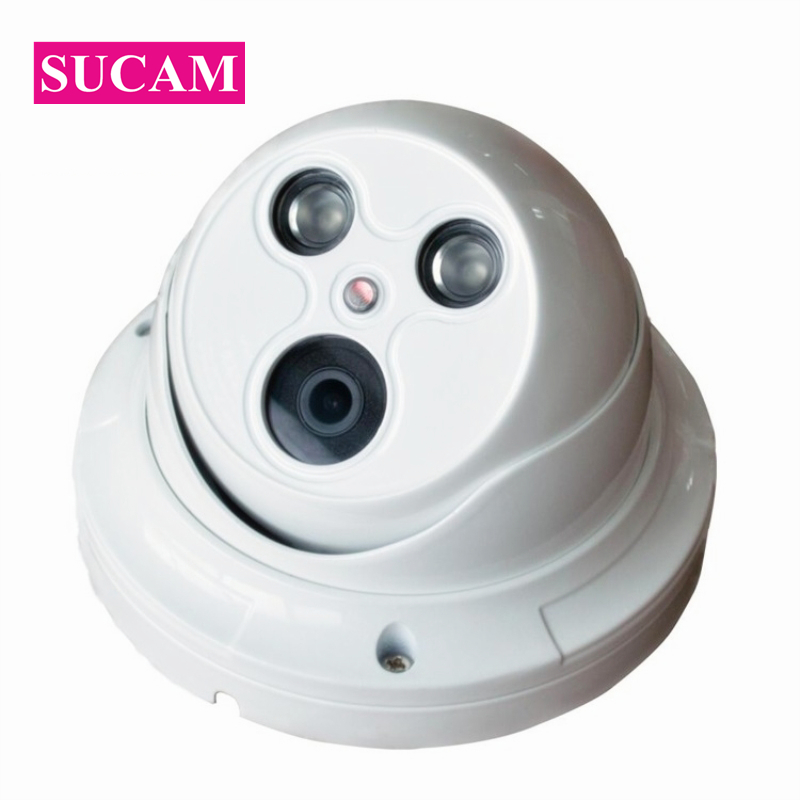 SUCAM 4.0 Megapixel Dome IP CCTV Camera Indoor 3516D Full Real Time Motion Detection ONVIF IP Video Surveillance Camera 30M IRSUCAM 4.0 Megapixel Dome IP CCTV Camera Indoor 3516D Full Real Time Motion Detection ONVIF IP Video Surveillance Camera 30M IR