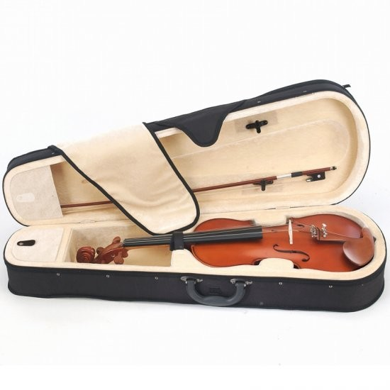 Free shipping New Size 16 Solidwood viola with Brazil wood Bow Rosin shaped viola case artifical flamed handmade new solid maple wood brown acoustic violin violino 4 4 electric violin case bow included