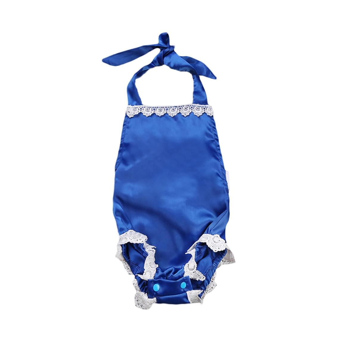 Newborn Infant Baby Girls Lace Floral Romper Jumpsuit Sunsuit Cotton Summer Casual Clothes One-Pieces Outfits