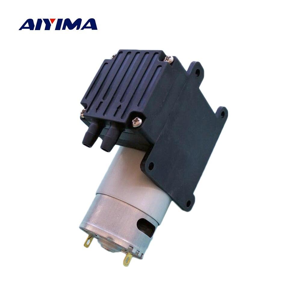 Aiyima Diaphragm Pump Micro Air Pump 300kpa DC9V 12V 24V 15W 18L/min Metering Pumps cf 4 15w 40 20w 50 18l