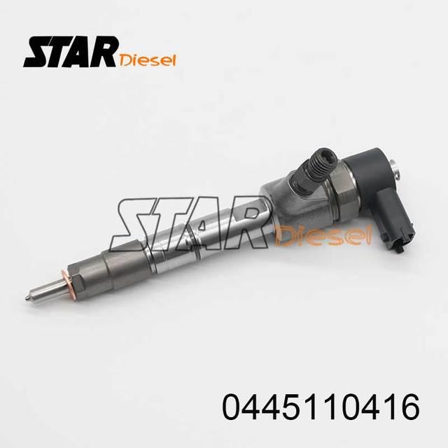 Injecteur Diesel à Rail commun   Injecteur dinjection de carburant 0445110416 0 445 110 416 à Rail commun 0445 110