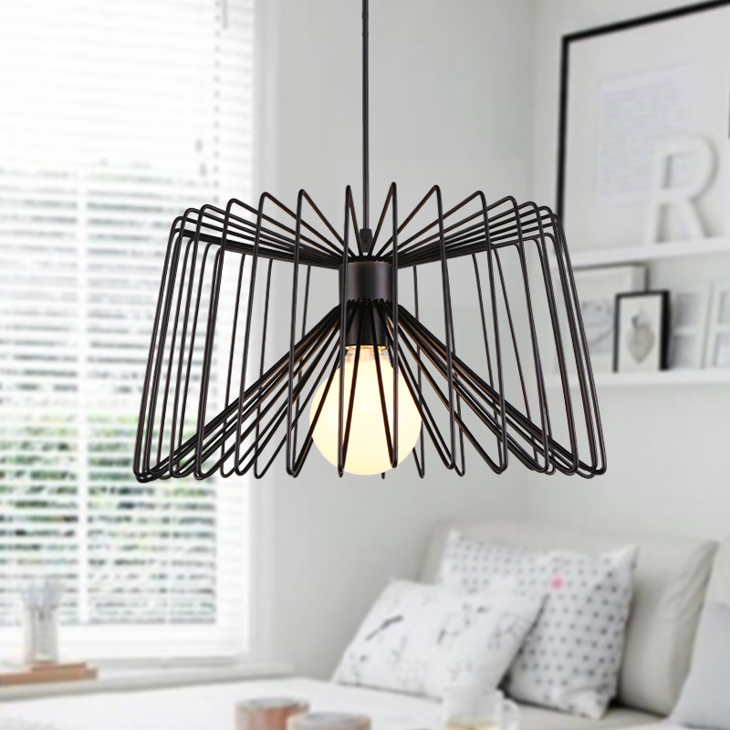 Northern Europe Modern Concise Creative Iron Pendant Lamp Restaurant Bedroom Office Study Parlor Decoration Lamp FreeShipping цена