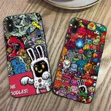 Graffiti Pop Phone Cases Cover for iphone X XR XS MAX 6 6s 7 8 Plus TPU Cover Coque For iphone 7 8Plus iphone 5SE Cases rick and motry phone cases cover for iphone x xr xs max 6 6s 7 8 plus tpu cover coque for iphone 7 8plus iphone 5se cases