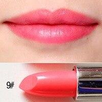 2 цвета макияж водонепроницаемый матовый бархат губная помада стойкий блеск для губ горячий долговечный Водонепроницаемый увлажняющий не
