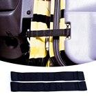Hot Sale 2PCS/Pair Front & Rear Nylon Adjustable Door Strap For Jeep Wrangler CJ JK JKU TJ YJ Black/Red/Yellow/Green