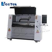 ACCTEK Небольшой 500 Вт 1000 Вт ЧПУ волокна лазерный резак машины 6040 1390 металлолома резки для продажи