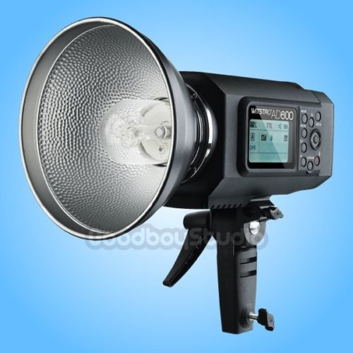 Godox AD600M 600W Portable HSS Manual Outdoor Studio Flash Strobe (Godox Mount) godox es 600p 600w gn68 xenergizer wireless portable flash studio light lighting kit
