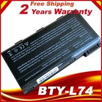 Bty l74 BTY L74 akumulator do laptopa dla MSI A5000 A6000 A6200 CR600 CR600 CR620 CR700 CX600 CX700 wszystkich serii MSI CX620 w Akumulatory do laptopów od Komputer i biuro na