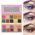 10 Color Eyeshadow Palette Makeup Brand Matte Star Eye Shadow Makeup Set Lasting Powder Eyeshadow Makeup Pallete Cosmetics Kit